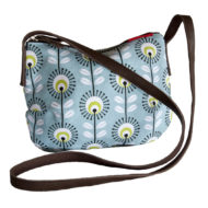 Blue Pincushion Smil bag by Tamelia