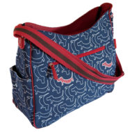 Nappy bag Dogs print by Tamelia