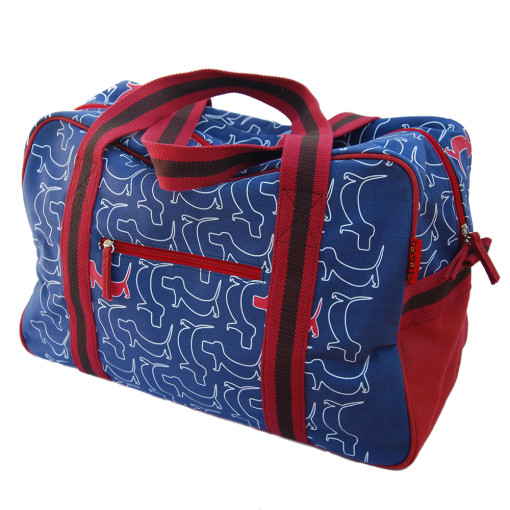 Dogs Weekend Bag by Tamelia
