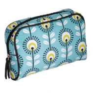 Blue Pincushion Make-up Bag by Tamelia