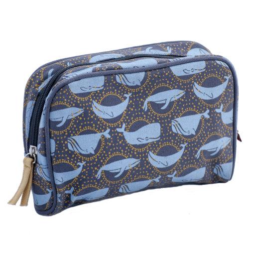 Whale Make-up bag