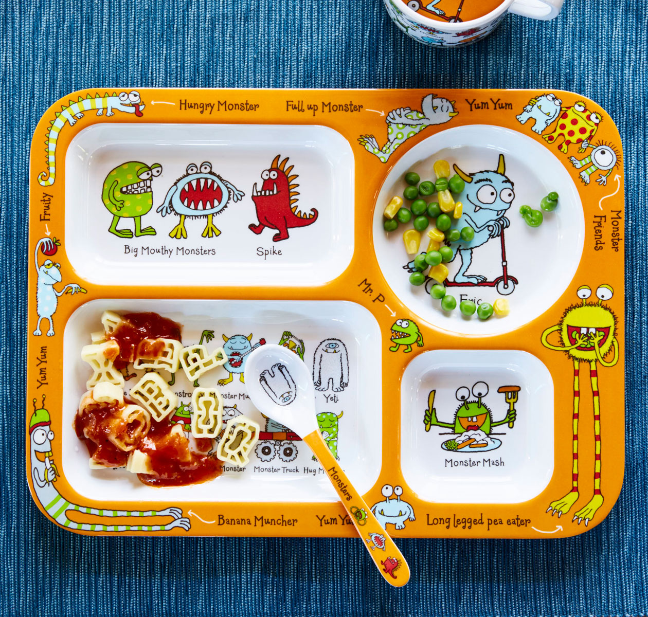 Monster Compartment tray