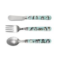 Penguins Cutlery set