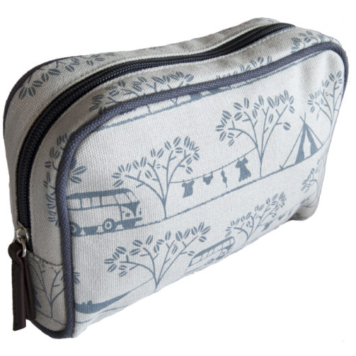 Camping print Make-up bag