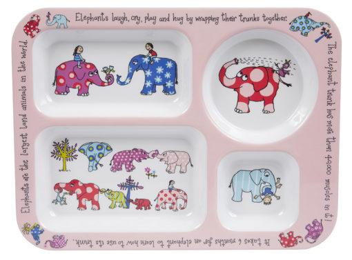 Elephants Compartment tray