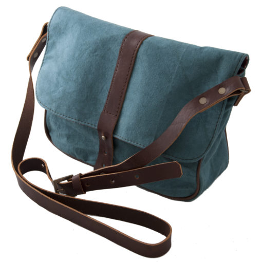Teal Satchel